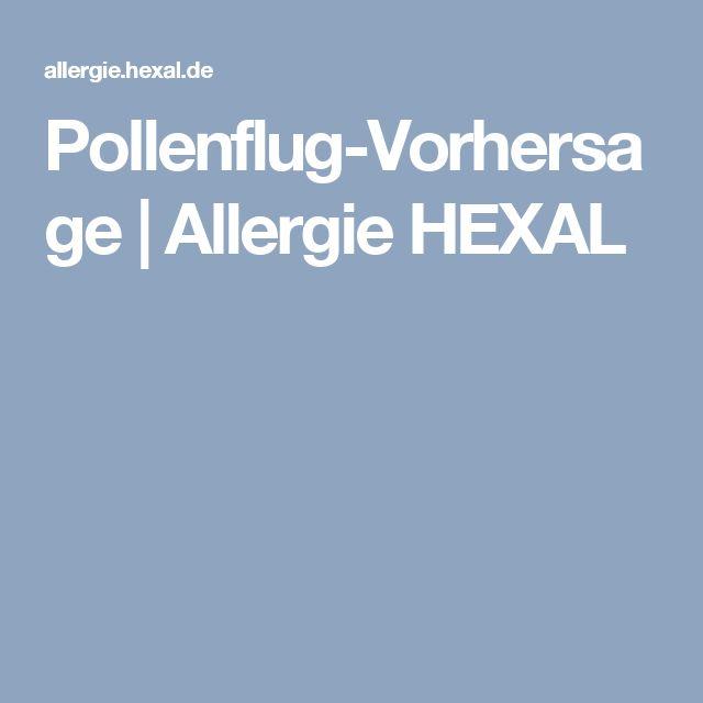 Pollenflug-Vorhersage | Allergie HEXAL