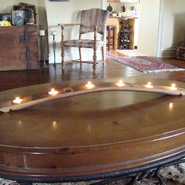 Make An Arch Candle Holder From A Wine Barrel Board.  Thought Of You,. Jack  Daniels BarrelWine BarrelsCandle ...