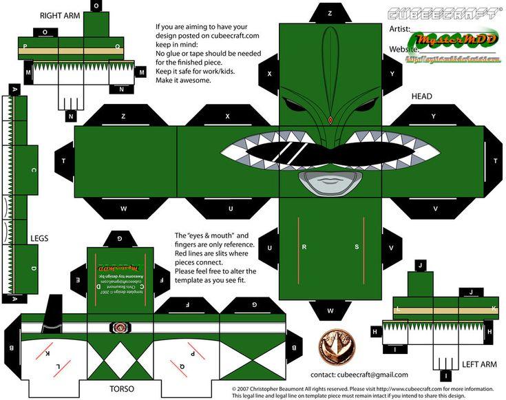 MMPR - (evil) Green Ranger by MysterMDD on deviantART