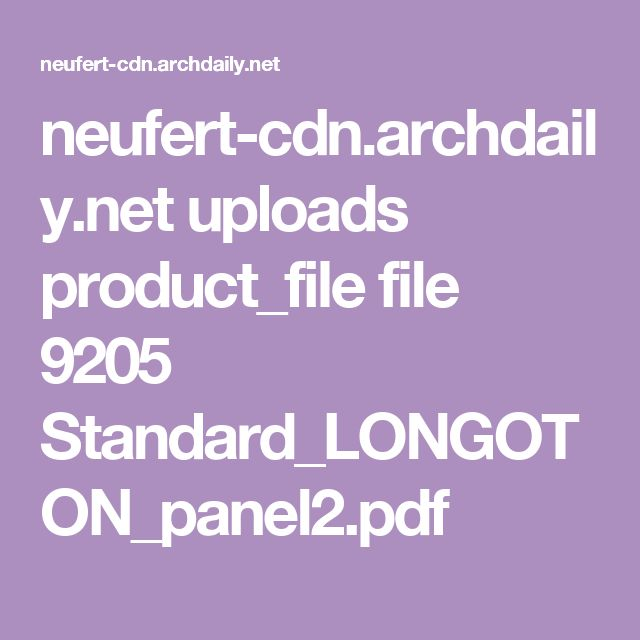 neufert-cdn.archdaily.net uploads product_file file 9205 Standard_LONGOTON_panel2.pdf  Terracotta Panels