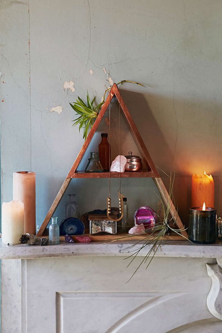 Magical Thinking Pyramid Shelf - Urban Outfitters $129
