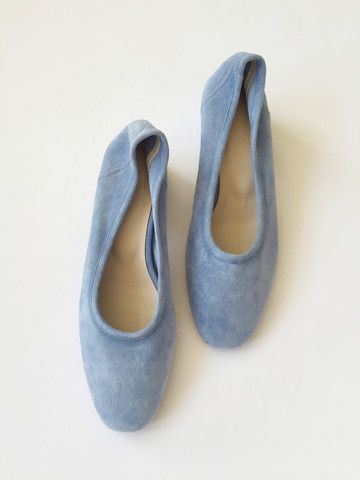 Maryam Nassir Zadeh Roberta Ballerina Shoe - Cielo Suede