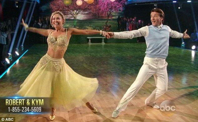 shark tank guy dating dancing with the stars The divorce isn't official yet but shark tank's robert herjavec is already getting quite chummy with his dancing with the stars dance partner, kym johnson.