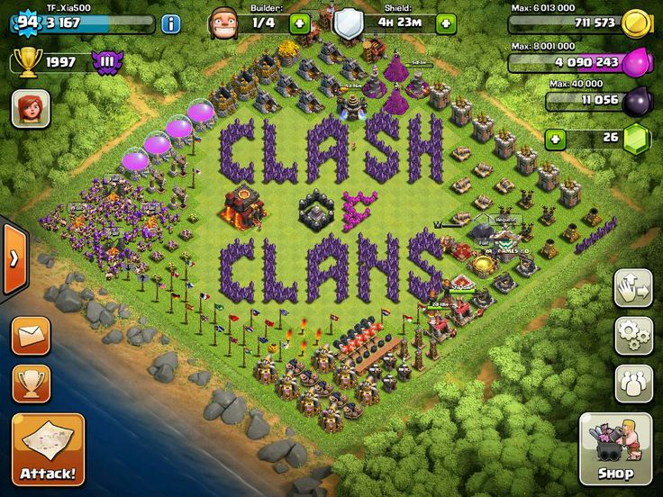 clash of clans mod game apk