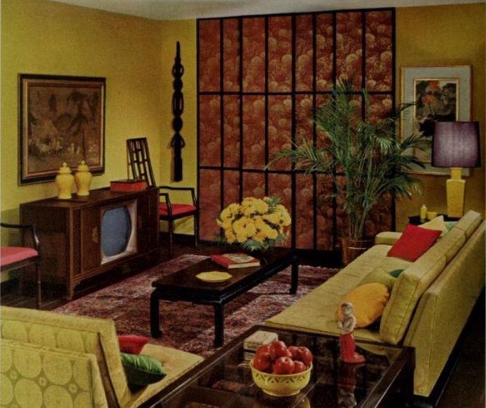 Mcm Livingroom 1960s Home Decor 70s Home Decor Retro Room