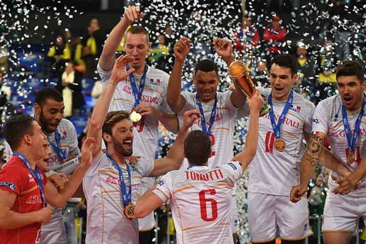 France Wins World Volleyball League