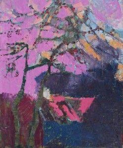 Danuta Krajewska / Biesówko /  oil painting on canvas / 50 x 60cm http://dankrajewska.wix.com/painting