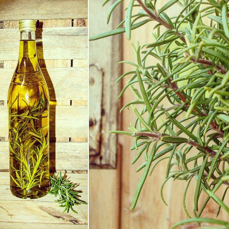 mediterranes bio rosmarin l kannst du ganz leicht selbst machen rosmarinzweige mit bio oliven l. Black Bedroom Furniture Sets. Home Design Ideas