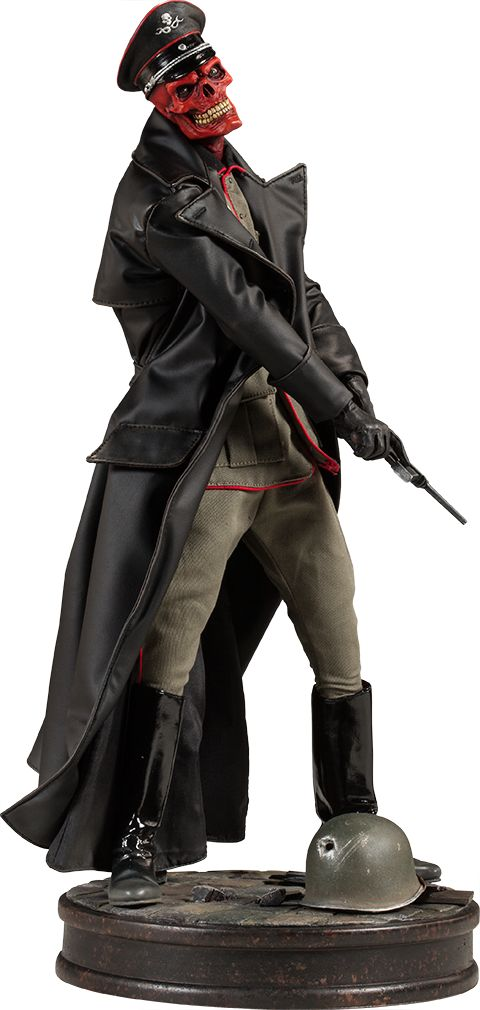 Sideshow Marvel Red Skull Allied Charge Premium Format Figure