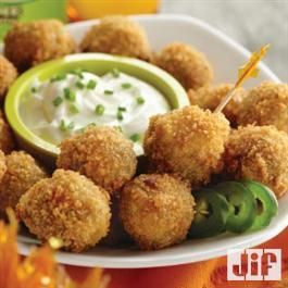 Peanut Butter Jalapeno Poppers from Jif®