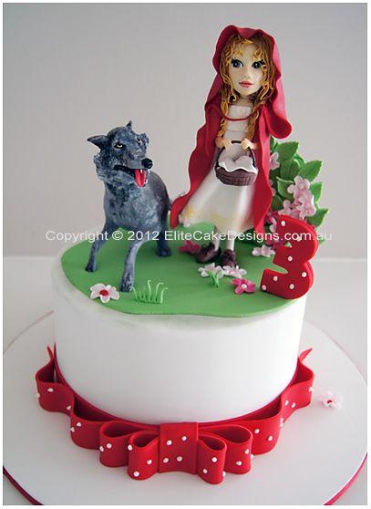 Red Riding Hood   Kids Birthday Cake