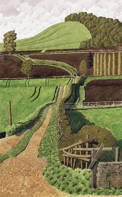 Behind the Plough by Simon Palmer