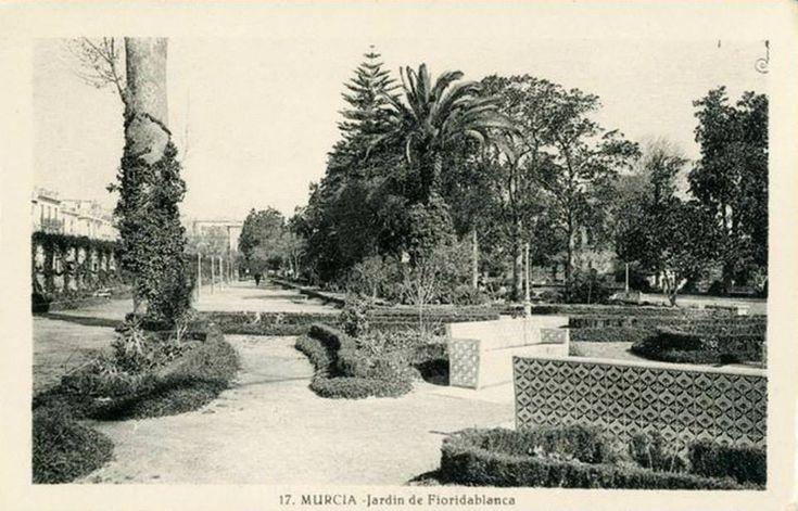 Jardín de Floridablanca azulejos