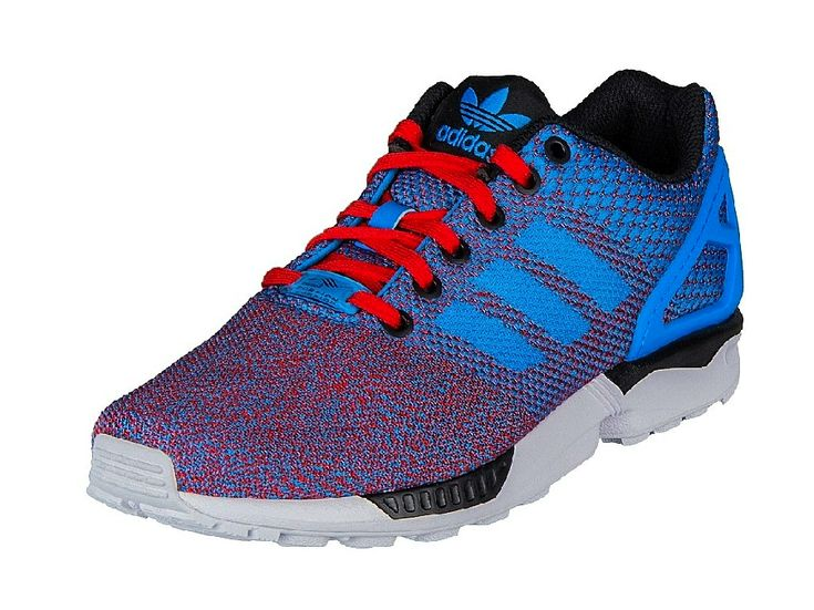 Adidas Zx Flux Red And Blue