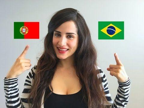 Portugal Portuguese vs. Brazilian Portuguese - YouTube