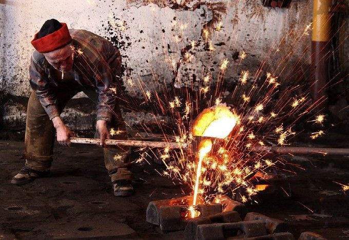 The old metalworker: Photo by Photographer Orhan Köse - photo.net