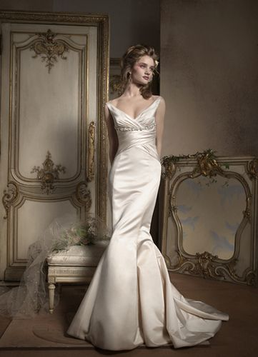 Silver Wedding Dress Ideas : Best 25 silver wedding gowns ideas on pinterest