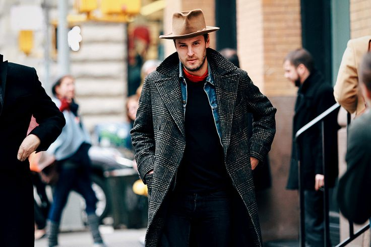 Street style hombre New York Fashion Week Mens