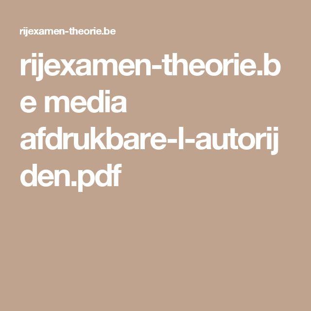 rijexamen-theorie.be media afdrukbare-l-autorijden.pdf