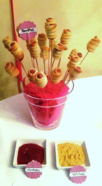 Cocina de color Lila: Perritos en hojaldre