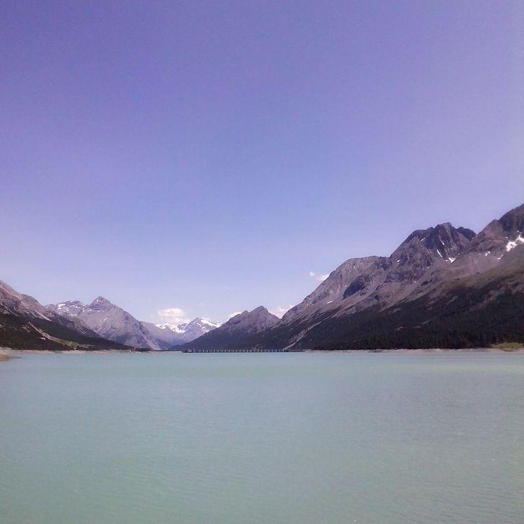 #nature #natura #góry #mountains #dolomiti #dolomity #italia #italy #włochy #jezioro #lake #blue #bluesky
