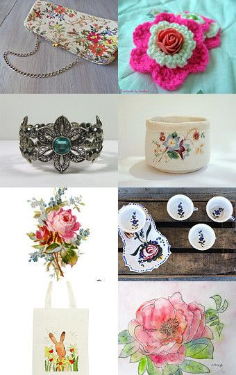 Spring flowers! by Andreea-Irina Puiu on Etsy--Pinned with TreasuryPin.com