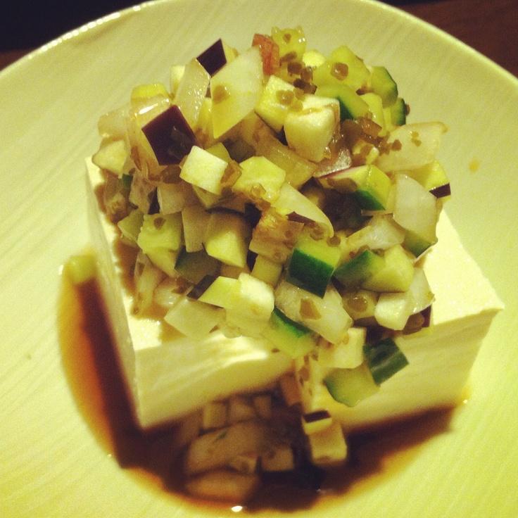 Dashi on Tofu.
