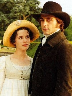Kate Beckinsale As Emma Woodhouse And Mark Stong As Mr.Knightley In Emma BBC Series (1996)