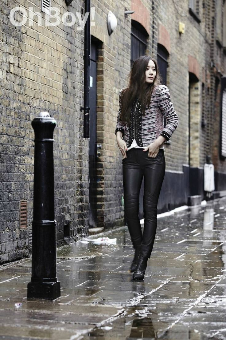 Check out more chic photos of Krystal for 'Oh Boy!' | allkpop.com
