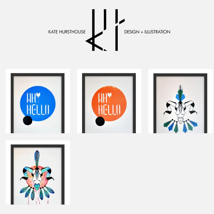 Kate Hursthouse Design + Illustration now has a shop where you can purchase limited edition screenprints - http://katehursthouse.bigcartel.com/