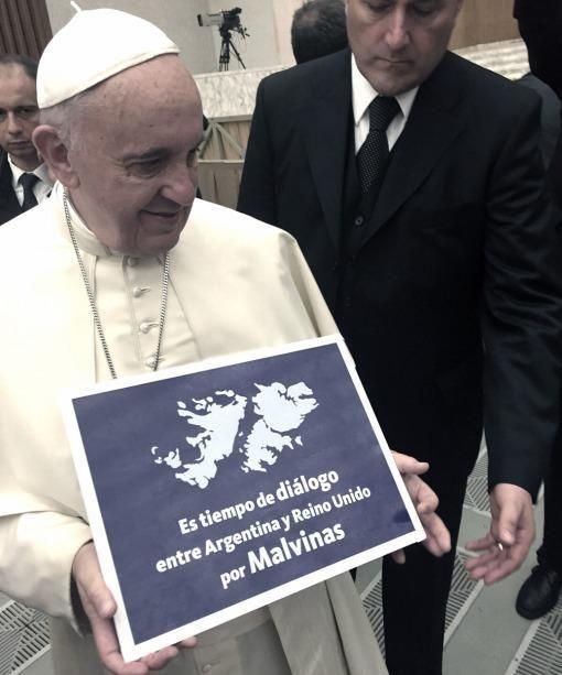 El Papa se sumó al pedido de diálogo entre Argentina y Gran Bretaña por Malvinas - Télam - Agencia Nacional de Noticias