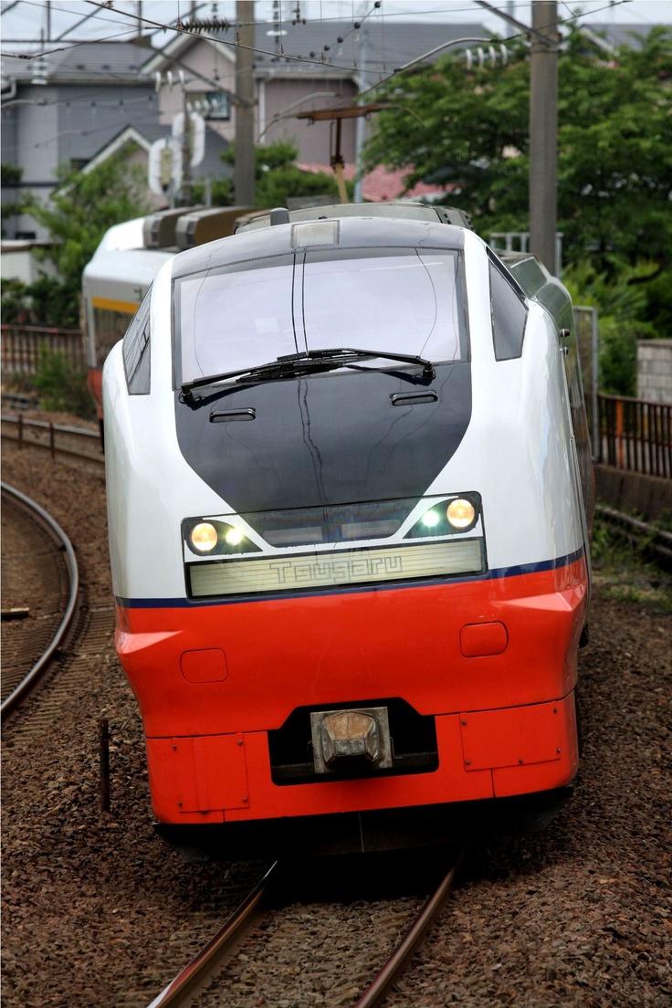 特急列車「つがる」E751系電車です。