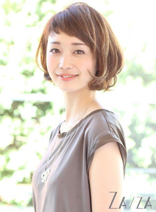 【ボブ】ショートバングボブ/ZA/ZA aoyamaの髪型・ヘアスタイル・ヘアカタログ|2016春夏