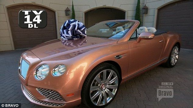 Birthday present: PK got Dorit a rose gold Bentley Continental worth $230,000