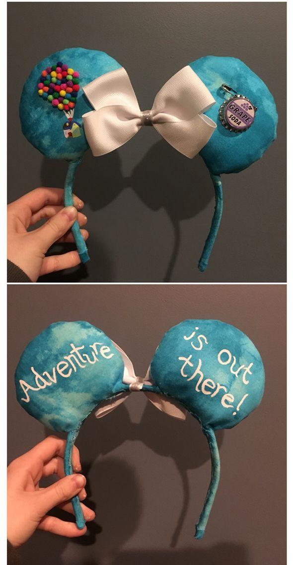 DIY UP Minnie Ears