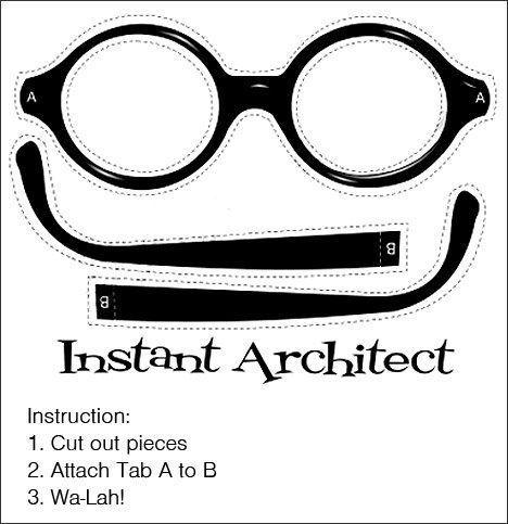 Para todo mundo andar de óculos