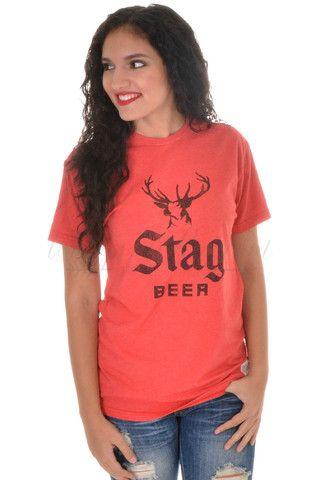 Stag Beer Tee