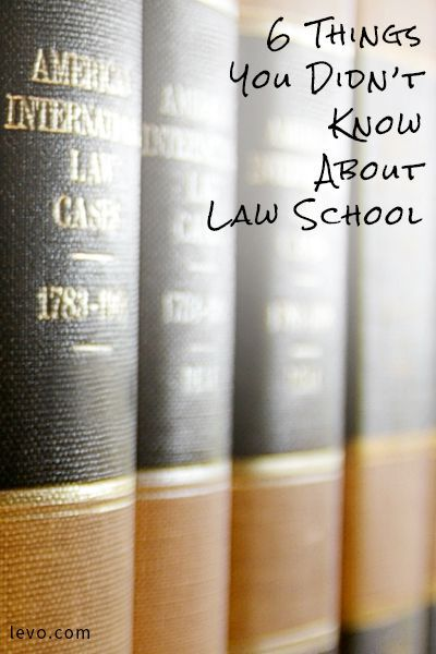 Whether you're considering law school or getting ready to go, here are a few things you should definitely know