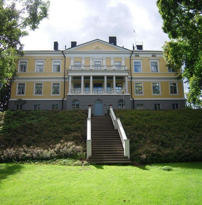 Manor house of Sannäs, Porvoo, Finland
