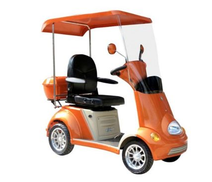 Mobility Scooter with Canopy Color