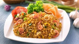 fried rice seafood