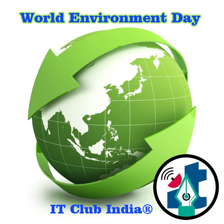 #World  #environment  #day  Why World Environment Day is Celebrated World environment day annual celebration campaign was started to address the huge environmental issues like wastage and losses of food, deforestation, increasing global warming and so many. Every year celebration is planned according to the particular theme and slogan of the year to bring effectiveness in the campaign all through the world. http://itclubindia.org/