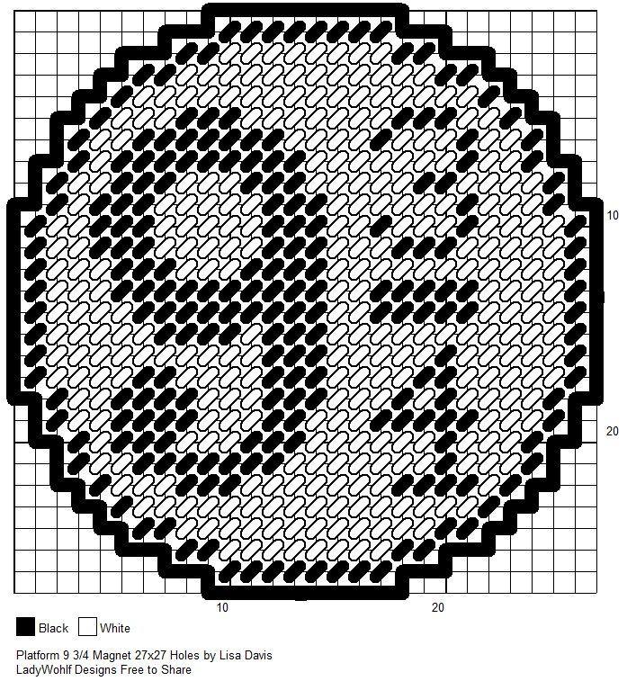 Image result for hogwarts plastic canvas