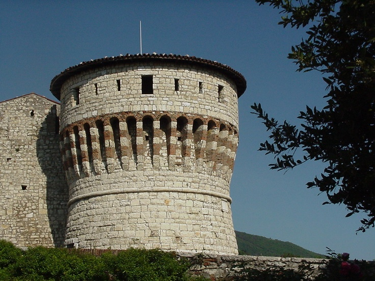 Tower of the Brescia Castle.