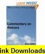 Commentary on Galatians and Ephesians eBook John Calvin ,   ,  , ASIN: B003IKN1BE , tutorials , pdf , ebook , torrent , downloads , rapidshare , filesonic , hotfile , megaupload , fileserve