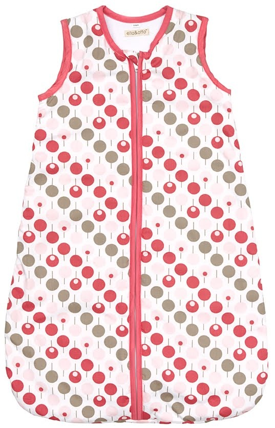 Ella & Otto Lollipop Tearose Design Baby Sleeping Bag - 2.5 Tog