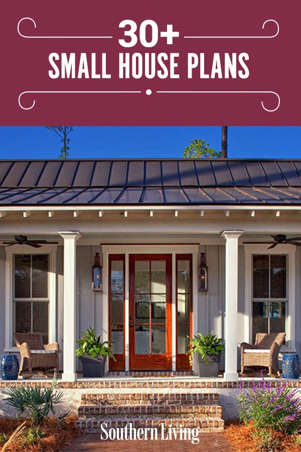 30 Small House Plans That Are Just The Right Size House Plans Small House Plans Southern Living House Plans