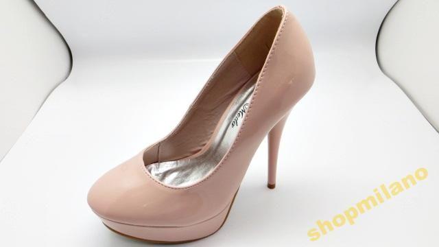 Czółenka peep toe szpilka 988-103 Róż rozm36-41  http://allegro.pl/czolenka-peep-toe-szpilka-988-103-roz-rozm36-41-i3457677759.html