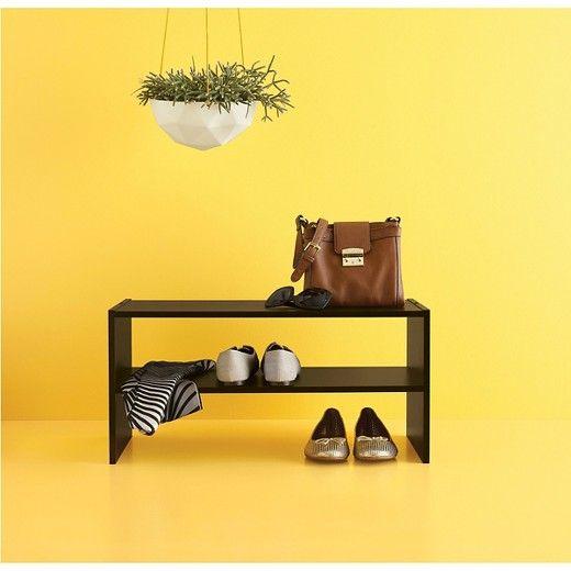 """24"""" Stackable Shoe Rack - Espresso - Room Essentials™ : Target"""