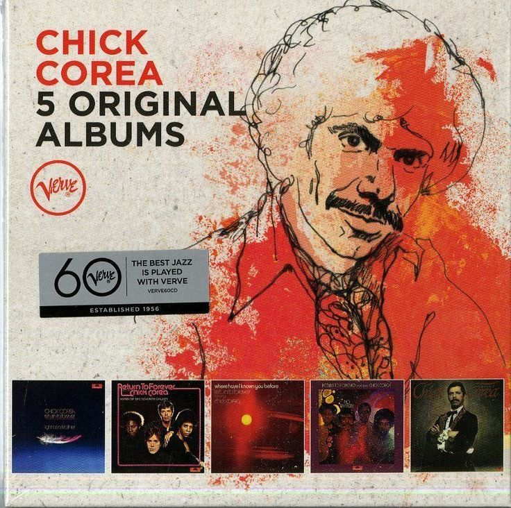 COREA CHICK - 5 ORIGINAL ALBUMS - BOX 5  CD  NUOVO http://ebay.eu/24hI1mZ